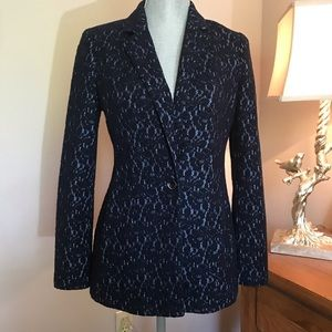 {Chico's} Lace Textured Jacket